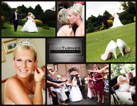 collection of wedding photography images