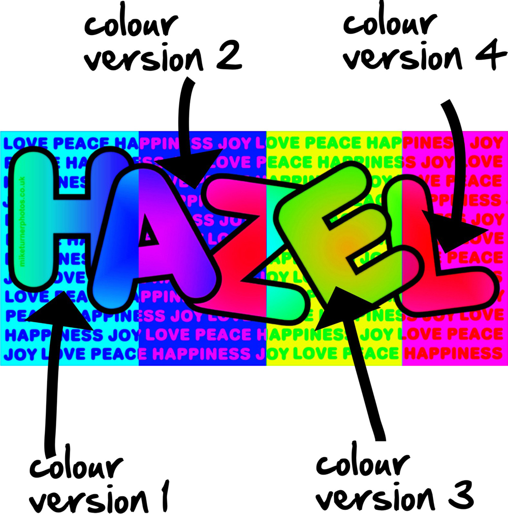 facebook graphic colour version illustration