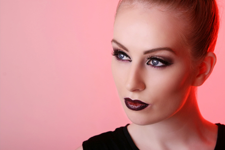 fashion makeup after photograph