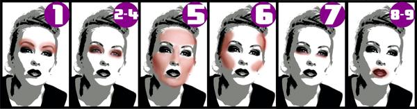 fashion makeup tutorial steps