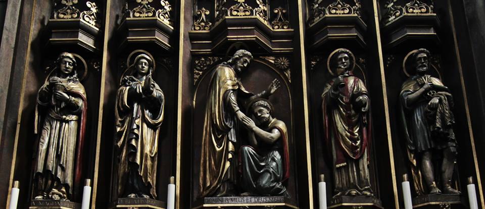 st thomas church leigh alter