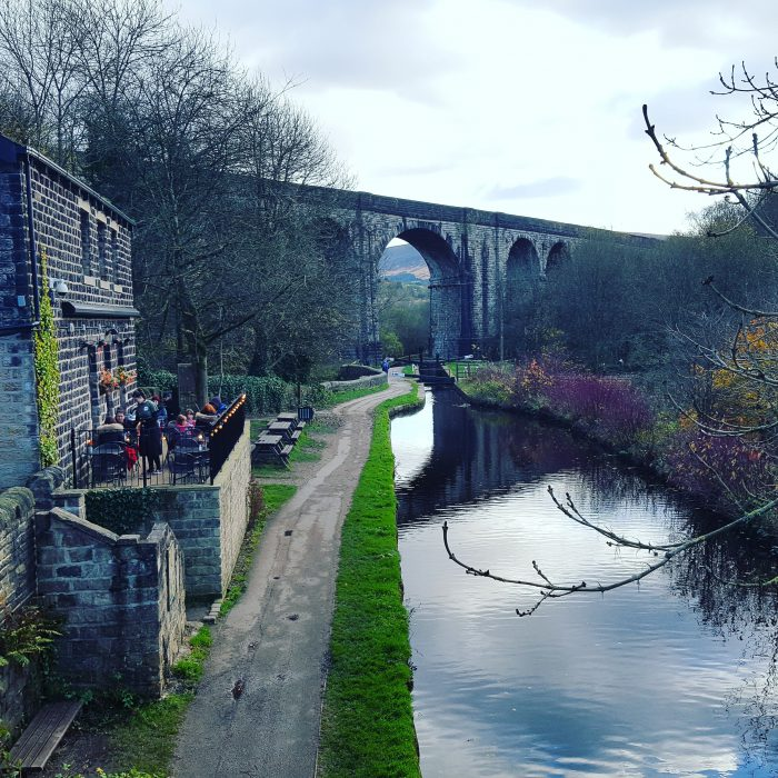 mike turner photography: photo of the Limekiln cafe at Uppermill, Oldham, Manchester